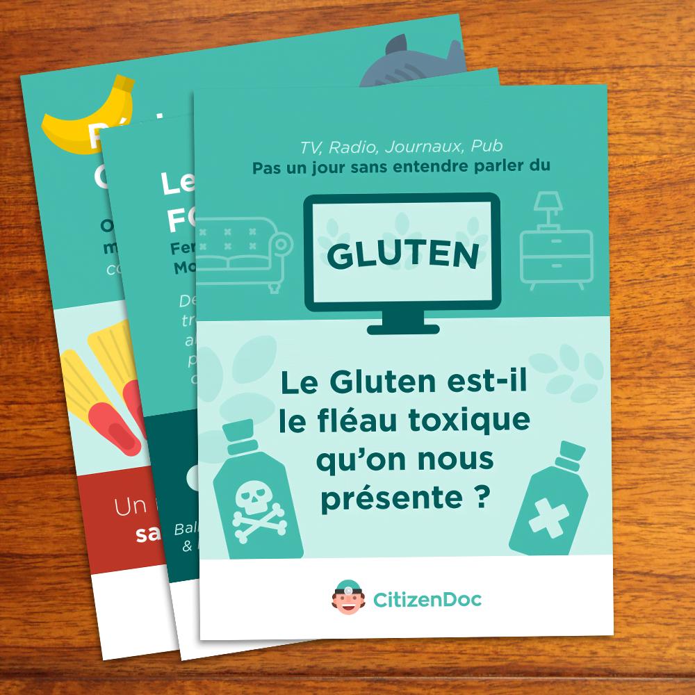 Citizen Doc Infographie Gluten